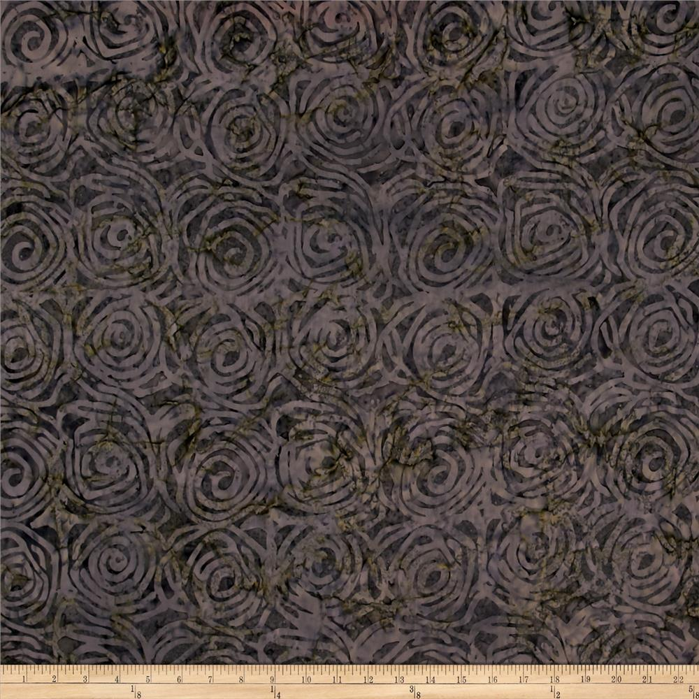 Timeless Treasures Tonga Batik Gotham Cinnamon Buns Granite