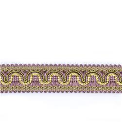 "Fabricut 1.25"" Resort Trim Lavender Twist"