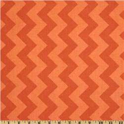Riley Blake Chevron Medium Tonal Orange Fabric