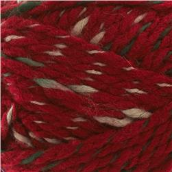 Lion Brand Yarn Zaps Busy Burgundy