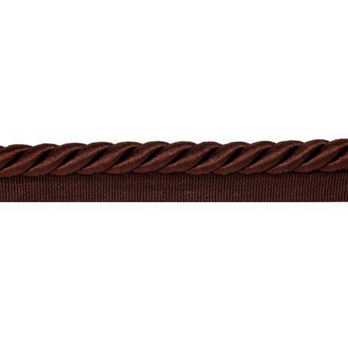 Hermosa 3/8'' Lip Cord Chocolate