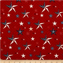 Heritage Large Stars Red