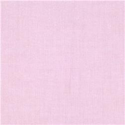 Kaufman Pinpoint Oxford Shirting Solid Baby Pink Fabric