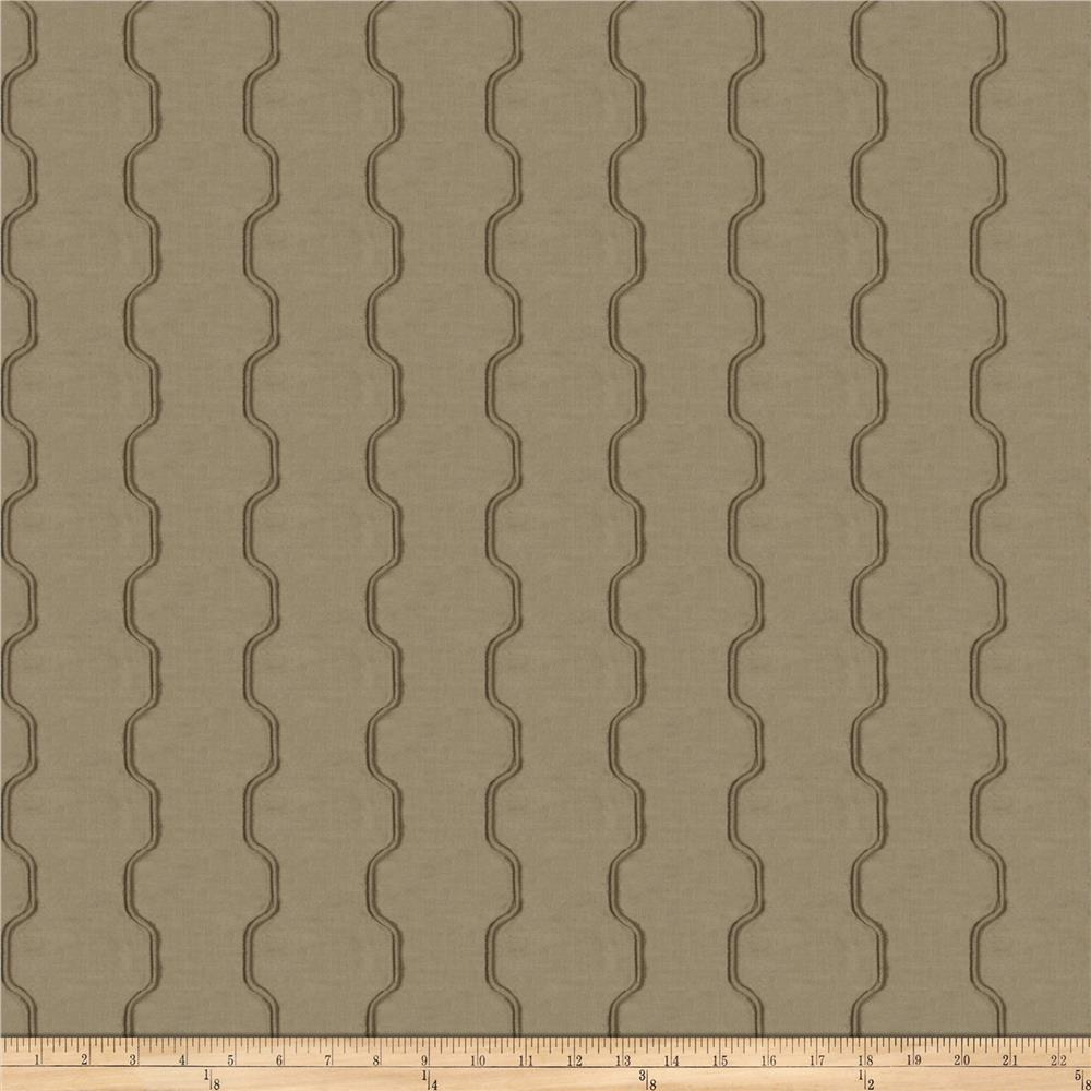 Fabricut Hathaway Faux Silk Taupe