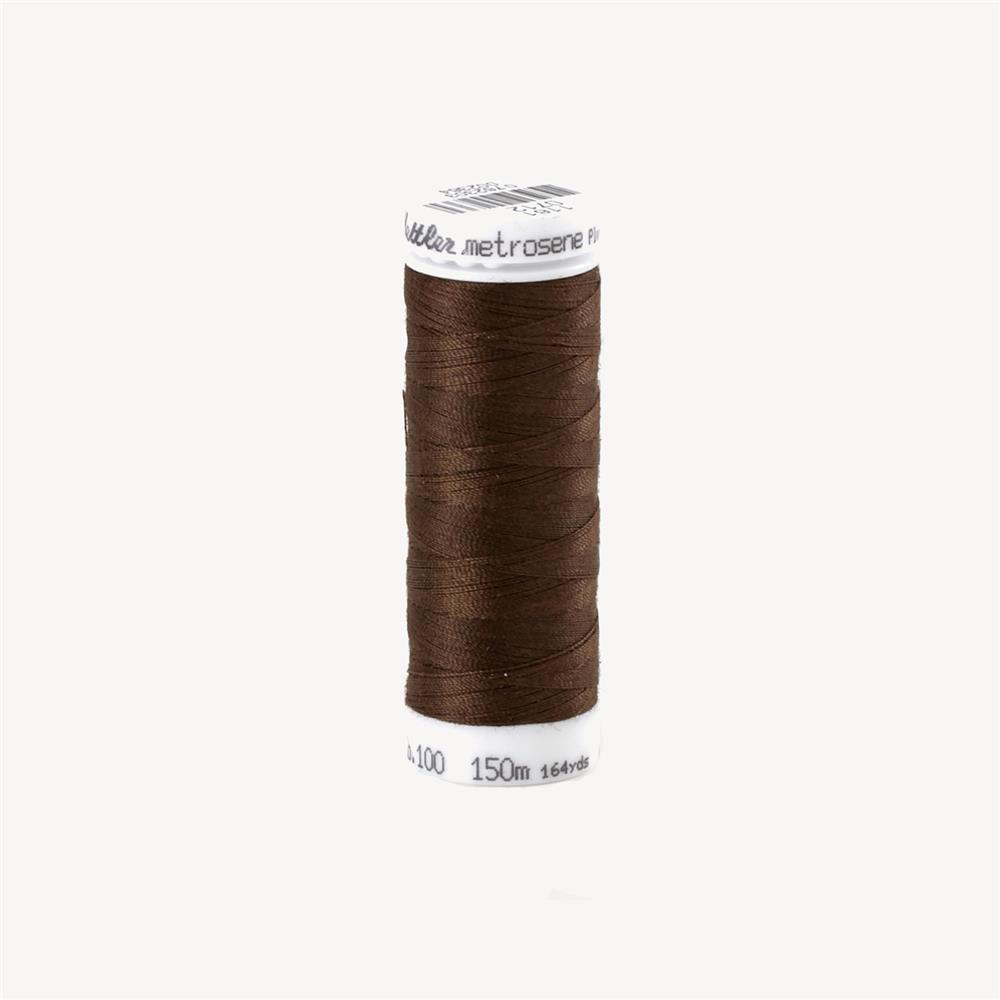 Mettler Metrosene Polyester All Purpose Thread Chocolate