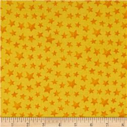 Happy Haunting Stars Yellow