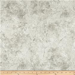 Stonehenge Hidden Valley Flannel Marbled Solid White/Grey