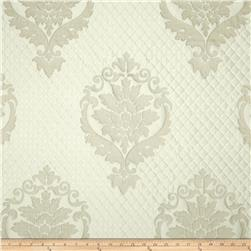 Starlight Times Square Quilted Quatrefoil Ivory
