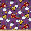 Angry Birds Rainbow Purple