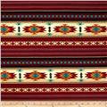 Tucson Flannel Stripe Terracotta
