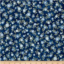 Kaufman La Scala 7 Metallic Small Flower Evening