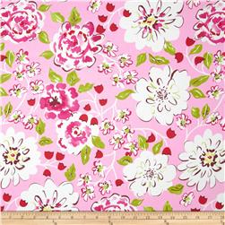 Dena Designs Tea Garden Home Decor Sateen Ying Ming Fuchsia