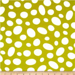 Celebrate Seuss Flannel Tossed Ovals Lime