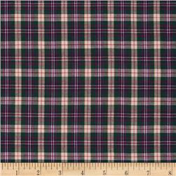 Imperial Tartan Plaid Princess Anne Green/White/Red