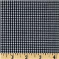 "Imperial 60"" Gingham 1/16"" Black"