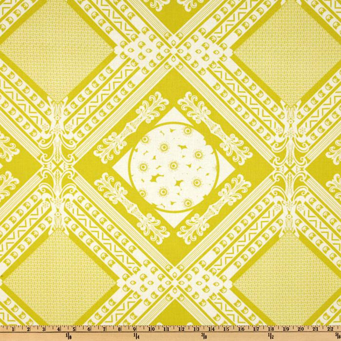 Anna Maria Horner LouLouThi Framed Citron