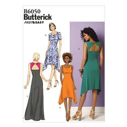 Butterick Misses'/Misses' Petite Dress Pattern B6050 Size A50