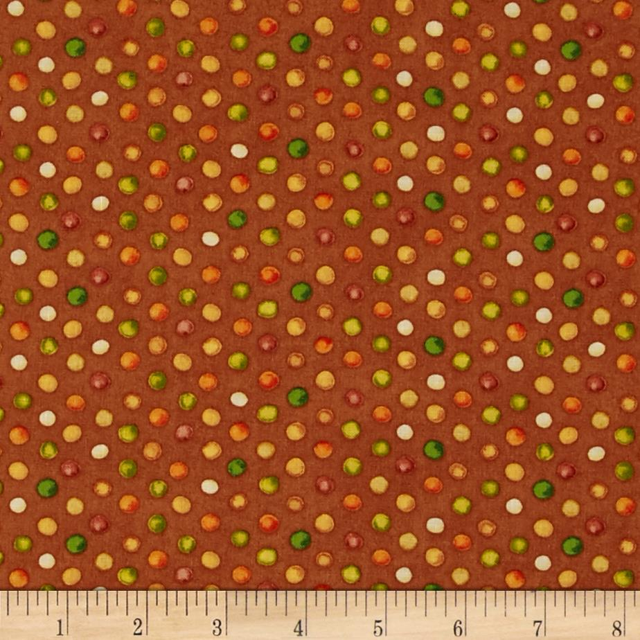 Grateful Harvest Dots Rust