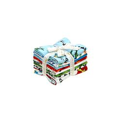Kaufman Dr. Seuss One Fish Two Fish Fat Quarter Bundle