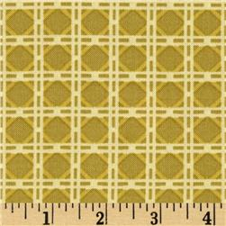 Northern Exposure Cane Linen Fabric