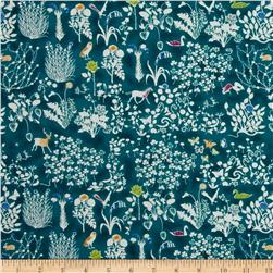 Liberty of London Yoshi Lawn Teal