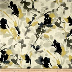 Waverly Leaf Storm Linen Graphite