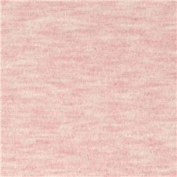 Stretch Rayon Jersey Knit Heather Pink