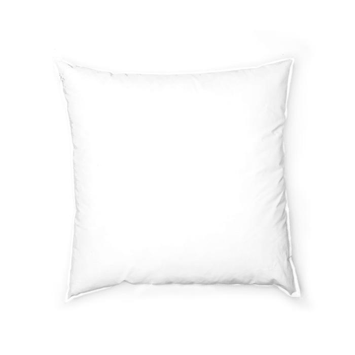 16'' x 16'' Feather/Down Pillow Form White