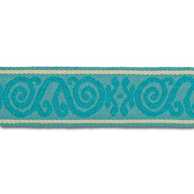 Mount Vernon 2'' Ornament Trim Aqua