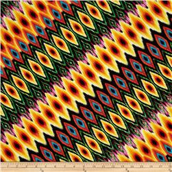 Kanvas Fiesta Diagonal Stripe Multi Fabric
