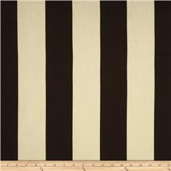 Premier Prints Vertical Stripe Chocolate/Natural
