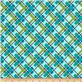 Hello Jane Plaid Green