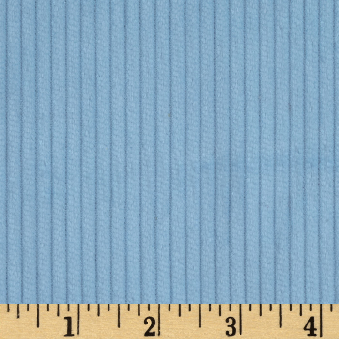 Kaufman 6 Wale Corduroy Cloud Fabric