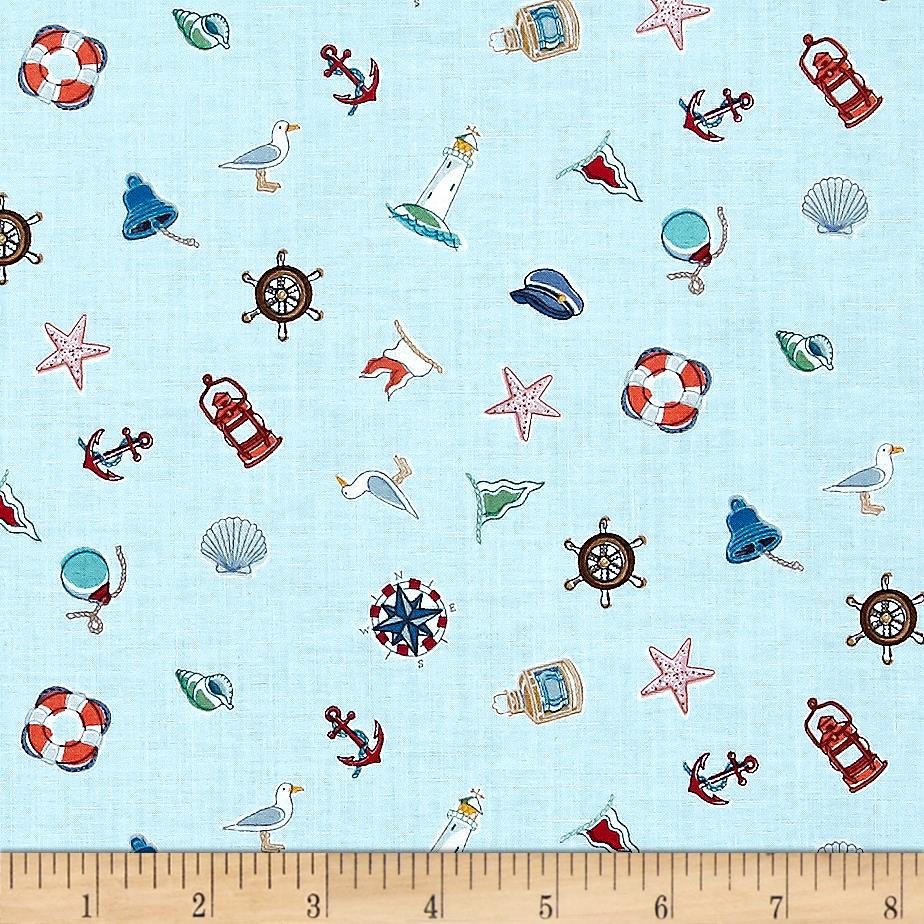 Marina Icon Scatter Blue