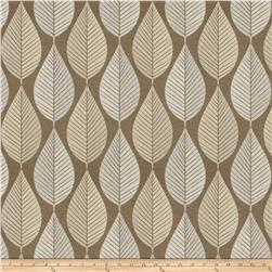 Fabricut Green Day Faux Silk Khaki