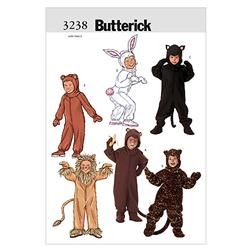 Butterick Children's/Girls'/Boys' Costume Pattern B3238 Size 020