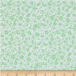 Medium Floral White/Green