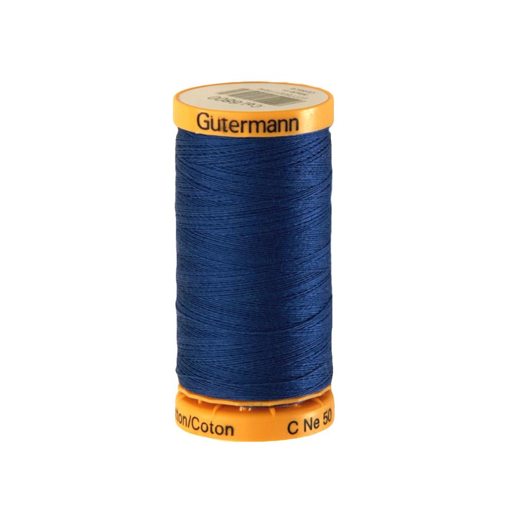 Gutermann Natural Cotton Thread 250m/273yds Royal