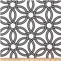 Michael Miller Bekko Home Decor Swirl Ebony