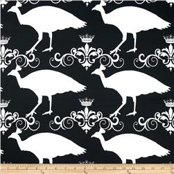 Premier Prints Peacock Black