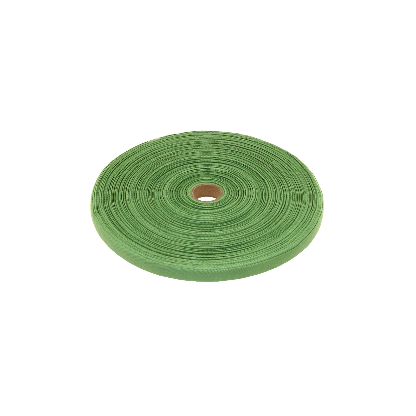 Cotton Twill Tape Roll 3/8'' Green