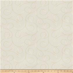 Trend 02879 Jacquard Leaves Cream