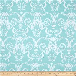 Riley Blake Halle Rose Damask Teal