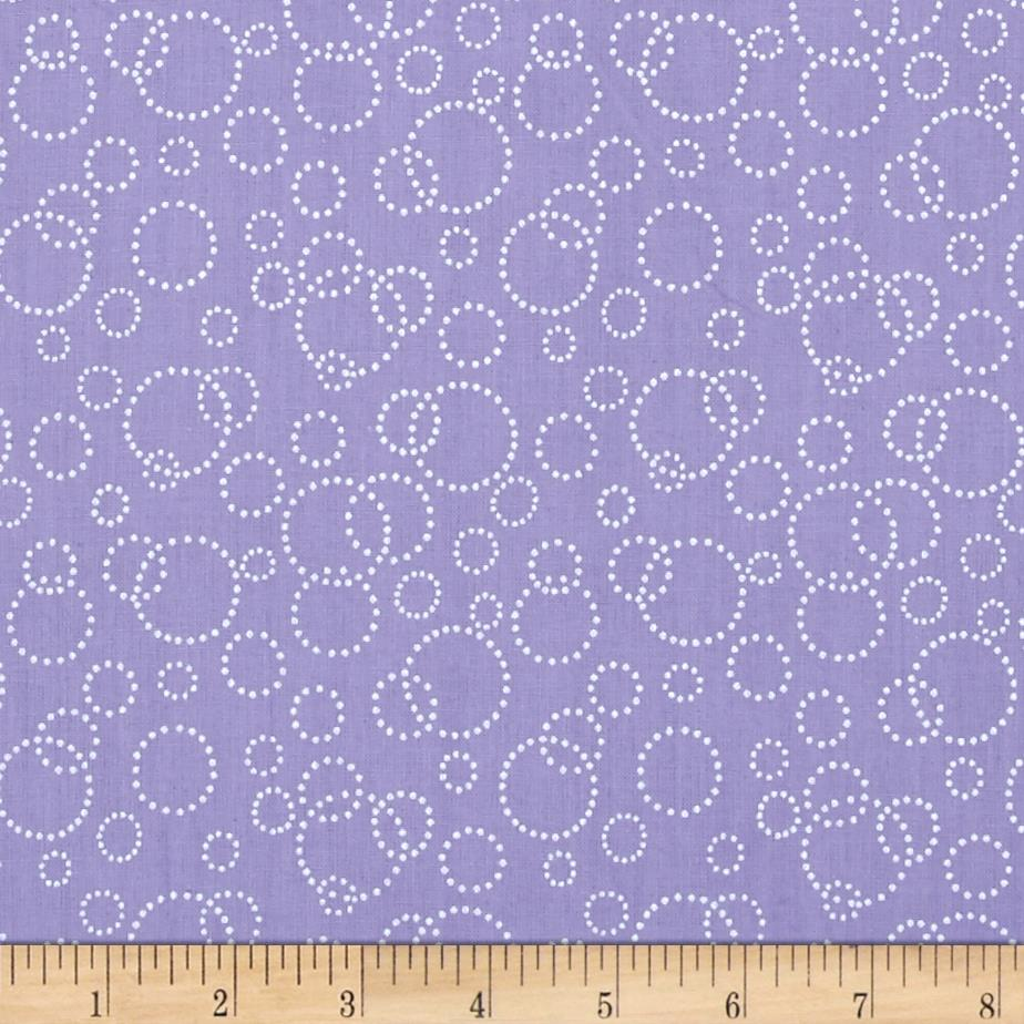 110'' Wide Quilt Back Champagne Lilac Fabric