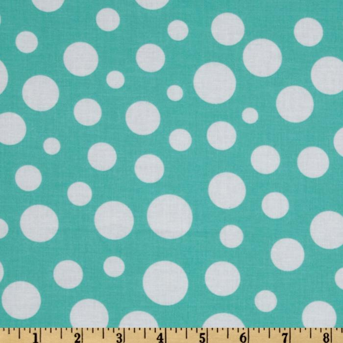 Michael Miller Lolli Dot Wave Aqua