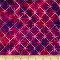 Bali Batiks Handpaint Tiles Grape Juice