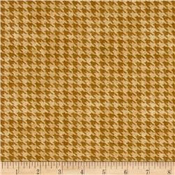 Alpine Woods Houndstooth Gold