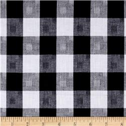 Woven Cotton Checker Black/White