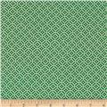 Quartette Tile Green/White