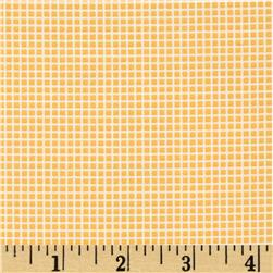 Robert Kaufman Penny's Dollhouse Gingham Screamin Yellow